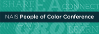 The 2018 NAIS People of Color Conference logo